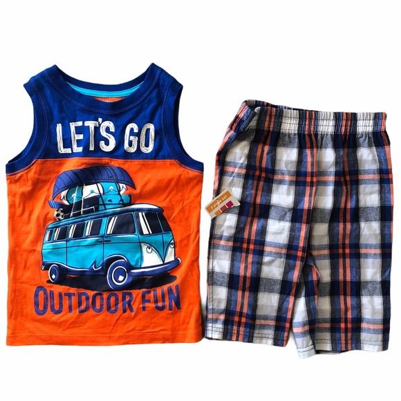 Boys 2 Piece Matching Set Size 5T